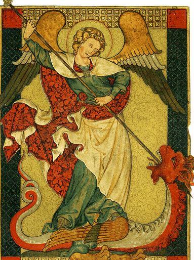 San Miguel Arcángel derrotando al Dragón
