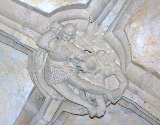 San Miguel Arcángel luchando contra el maligno