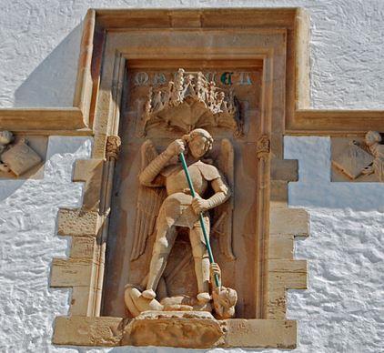 San Miguel Arcángel venciendo a Lucifer