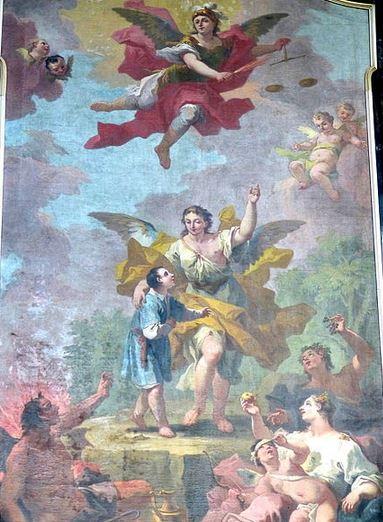 San Miguel Arcángel y el Ángel de la Guardia