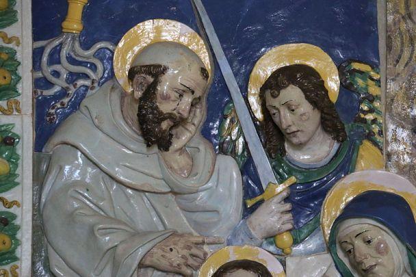 San Miguel Arcángel y San Francisco