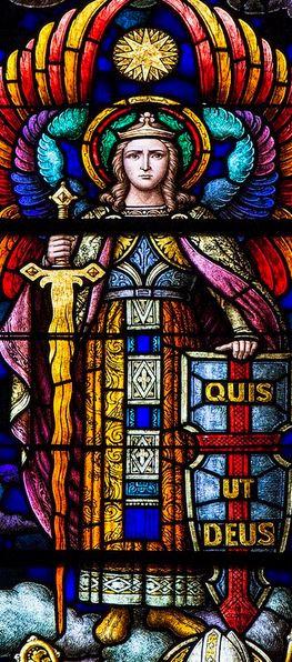 Vitral de San Miguel
