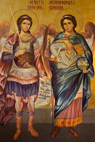 San Miguel Arcángel y San Gabriel