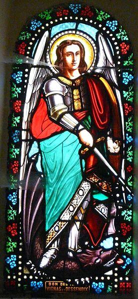 San Miguel Arcángel triunfando sobre el Dragón