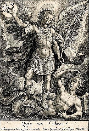 San Miguel Arcángel venciendo al maligno