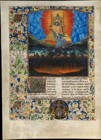 Arcángel Miguel y la caída de los ángeles rebeldes