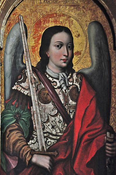 El icono del Arcángel Miguel