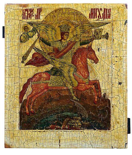 San Miguel Arcángel el caballero