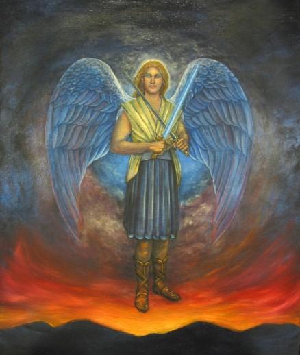 El gran príncipe San Miguel Arcángel