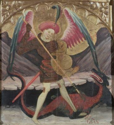 La victoria de San Miguel Arcángel