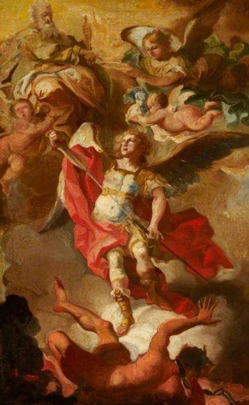 San Miguel Arcángel en batalla