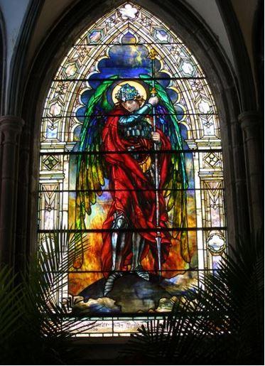 Vitral de San Miguel Arcángel