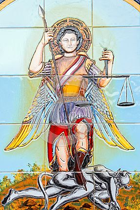 El guerrero San Miguel Arcángel