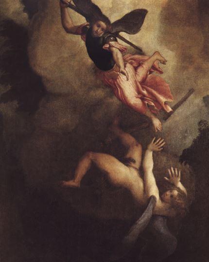 San Miguel el guerrero celestial