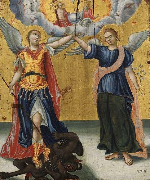 Arcángeles Miguel y Gabriel