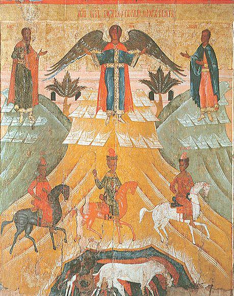 El milagro de San Miguel, Floro y Laurus