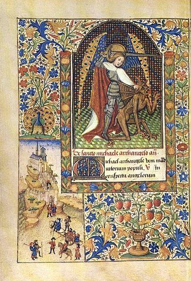 San Miguel Arcángel venciendo al dragón