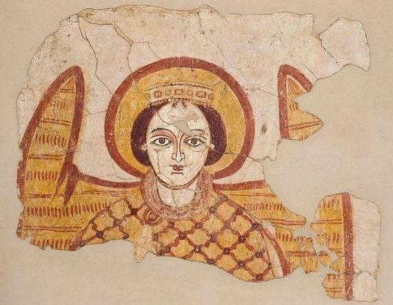 Fresco del Arcángel Miguel