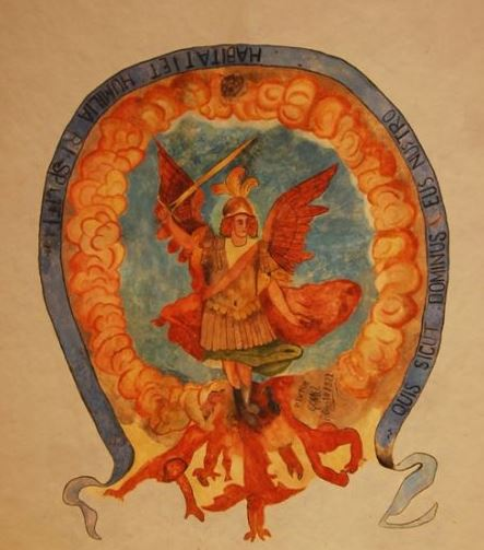 Pintura de San Miguel Arcángel