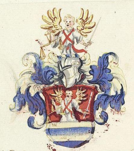 San Miguel Arcángel en el escudo de armas