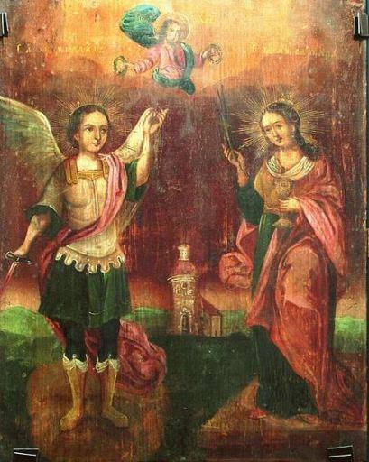 San Miguel Arcángel y Santa Bárbara
