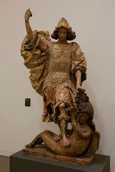 San Miguel venciendo al maligno