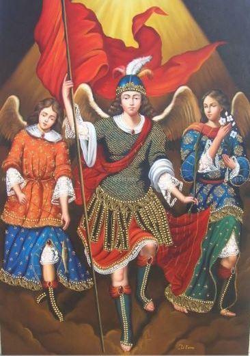 Los tres arcángeles – San Miguel Arcángel