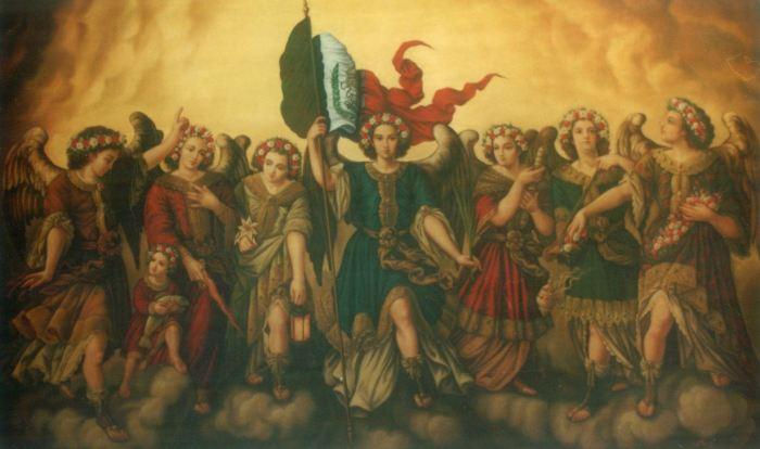 San Miguel Arcángel custodia de la nación mexicana