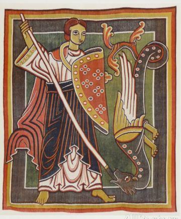San Miguel derrotando al dragón_1