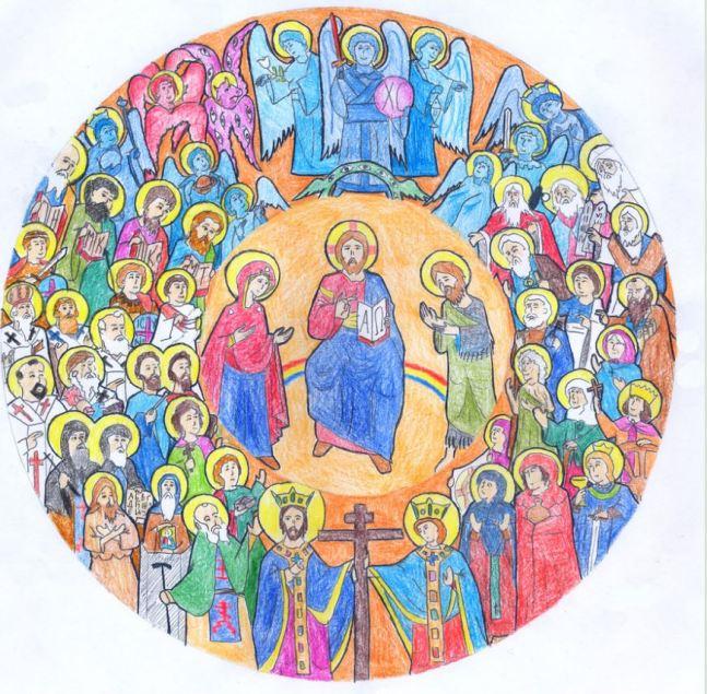 San Miguel Arcángel y todos los santos