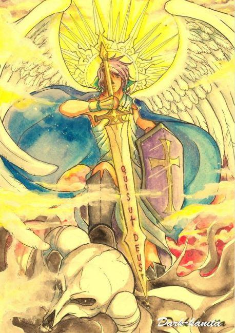 El gran Príncipe de la milicia celestial