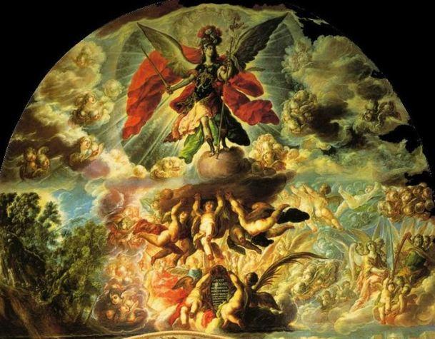 La aparición del Arcángel San Miguel