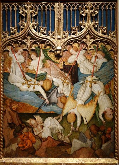 San Miguel y los ángeles caídos